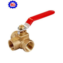 3 way Brass Ball Valve