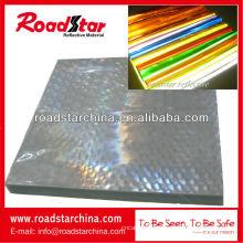 micro folha reflexiva retrô do PVC prismática