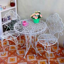 Портативный стол и стулья из металлического железа Hot Selling