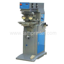 Small Double Heads Single Color Ink Cup Pad Printing Equipment