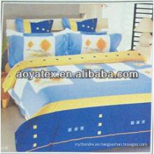 hojas de cama impresas personalizadas
