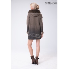 Winter Fashion Faded Jacket Coat