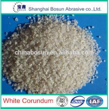 white aluminum oxide glass powder