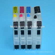 LC563 recharge cartouche d'encre pour Brother MFC J2510 J2310 J3720 J3520 imprimante à jet d'encre