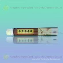 Aluminium & Tube plastique pour crème antiseptique pour la peau