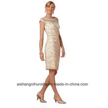 Mulheres Chiffon Bainha Evening Party Prom Dress