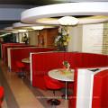Assento de cabine moderno de mobiliário de mobiliário personalizado (SP-CS146)