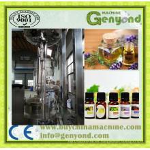 Máquina extractora de aceite esencial para plantas