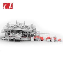 CL-SMMS PP Spunmelt Composite Nonwoven Fabric Making Production Line For Air Gas Oil Liquids Filtration