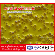Goods high definition for for China Manufacturer of Drop On Glass Beads, Drop-On Glass Beads Road Marking Drop-on Reflective Glass Beads for Road Marking Paint export to Haiti Exporter