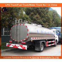 Caminhão do leite do petroleiro 12m3 para o caminhão de entrega do leite da exploração agrícola 4X2