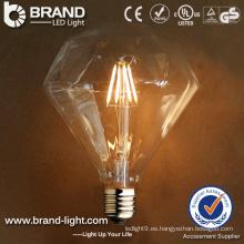 2 Años de Garantía E27 Base LED Bombilla de Filamento