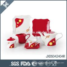 noted tea set porcelain