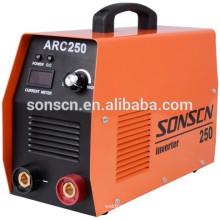 Melhor máquina portátil de solda ARC250 do soldador do arco ARC250 que solda para o aço