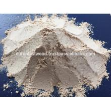 100% poudre de bois d'eucalyptus pour la fabrication de bâtons d'encens, WPC, papier