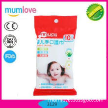 2013 Newest baby wet wipes 10pcs