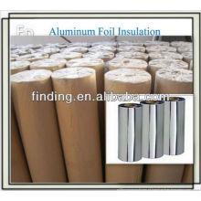 material placa de alumínio da folha aerogel vapor tubulação da isolação
