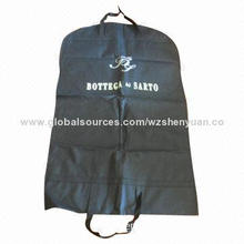 Black men's clothes bag