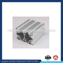 Extrusion en aluminium industrielle en t-slot haute qualité