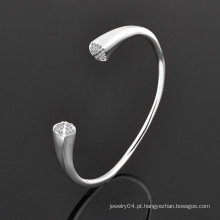 Jóia de cristal jóias de moda bracelete de aço inoxidável (br381)