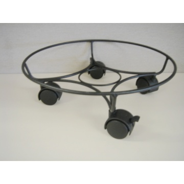 Heavy Duty Plant Caddy metal Pot trivet
