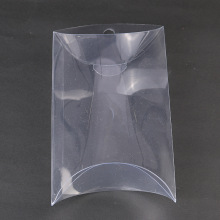 PVC Clear Pillow Packaging Box