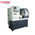 My test CK6125A cnc mini lathe/portable lathe machine/type cnc lathe