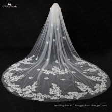 TA026 5 Meters Applique Wedding Accessories Long Wedding Veil