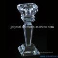 Castiçal de cristal para casa ou decoração de casamento
