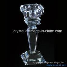 Candelabro de cristal para el hogar o la decoración de la boda