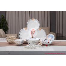 Meilleur marché de qualité au meilleur prix de vente au détail Jingdezhen Dinner Set