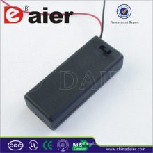 Daier 3v 2 aaa battery holder with cover aaa battery holder