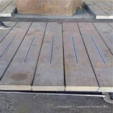 Barre plate en acier cathodique utilisée pour électrolyse en aluminium