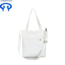 कस्टम शुद्ध रंग बैग छोटे ताजा कैनवास हैंडबैग कला बैग