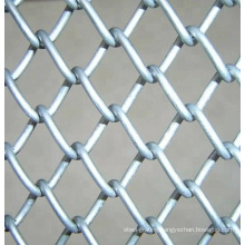 Factory direct sale 8 foot boundary wall pvc coated used wire mesh chain link fence for sale