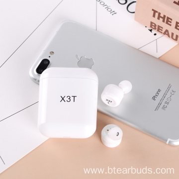 Earphone In Ear Headset X3T TWS