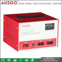 2015 Hot SVC 1kva Home Use 1000va 50Hz High Precision AC Servo Motor Voltage Stabilizer Yueqing