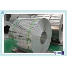 Placas de aluminio en relieve