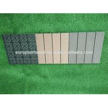 Ano novo em 2017! Hot sale WPC decking tile alta qualidade