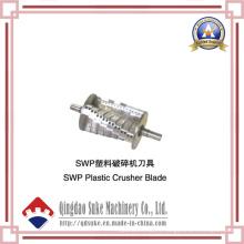 Lame de broyeur en plastique de Swp avec du CE certifié