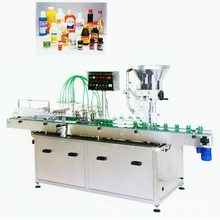 Automatic Can Feeding, Powder Filling and Packaging Machine Labeling Machinery