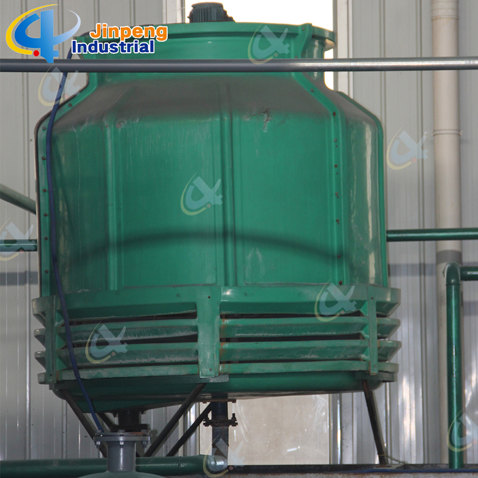 Pyrolysis Heavy Oil Plastic Recycling System