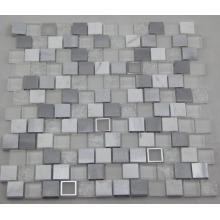 Mosaico de aluminio blanco / Mosaico de cristal / Mosaico de mármol (HGM392)
