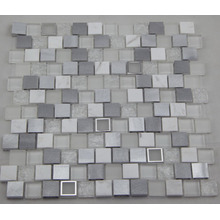 Mosaïque en aluminium blanc / Mosaïque en verre / Mosaïque en marbre (HGM392)