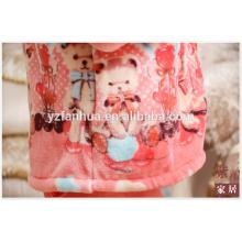 Tierische Bär gedruckt Flanell Pyjama Anzug für Winter entspannen nach Hause tragen