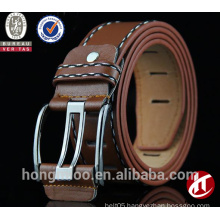 Vintage decoration pin buckles pu leather belt
