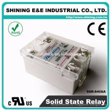 SSR-S40AA para generador pequeño 40A AC AC Relé de estado sólido
