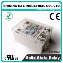 ССР-S40AA для небольшой генератор 40А переменного тока переменного тока твердотельные реле