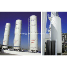 20m3 réservoir d'azote liquide cryogénique industriel à basse pression d'oxygène Lar