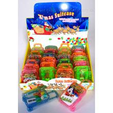 Apontador de lápis X′mas Suitcase com Candy (110615)